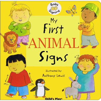 book cover: my first animal signs