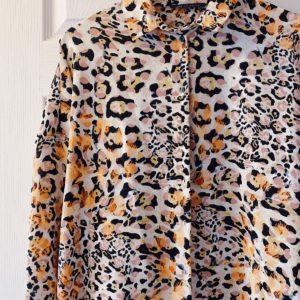 hanging leopard print shirt