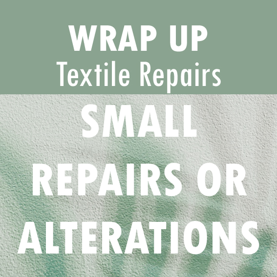 Text Reads: Small Repairs or Alterations