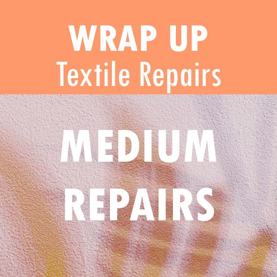 Text Reads: Medium Repairs