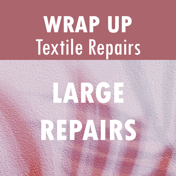 Text Reads: Large Repairs