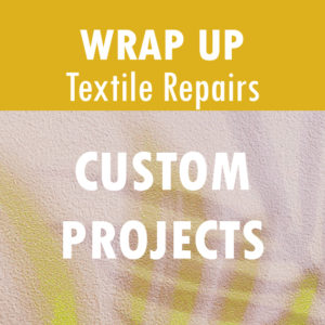 Text Reads: Custom Projects