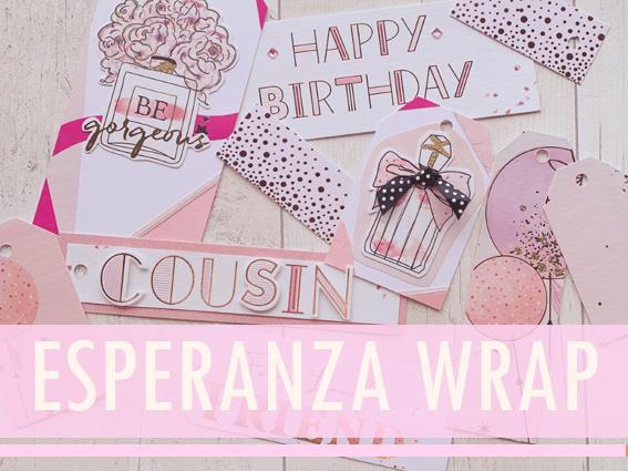 Text Reads: Esperanza Wrap