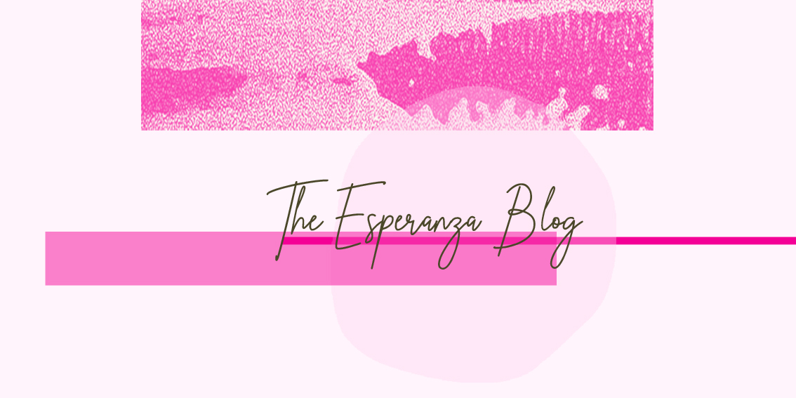 Text Reads: The Esperanza Blog